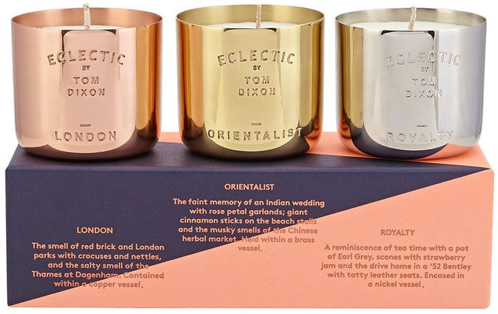 Tom Dixon - Eclectic Candle Gift Set #copper #brass #nickel #scented #affiliate
