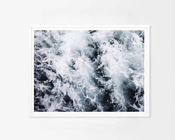 Ocean Printable Art Ocean Print Coastal Decor Coastal Wall