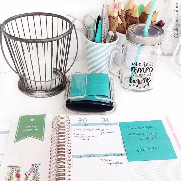 Para realizar, escreva seus sonhos! #meudailyplanner #dailyplanner #plannerlove #plannerassesories #paperview_papelaria