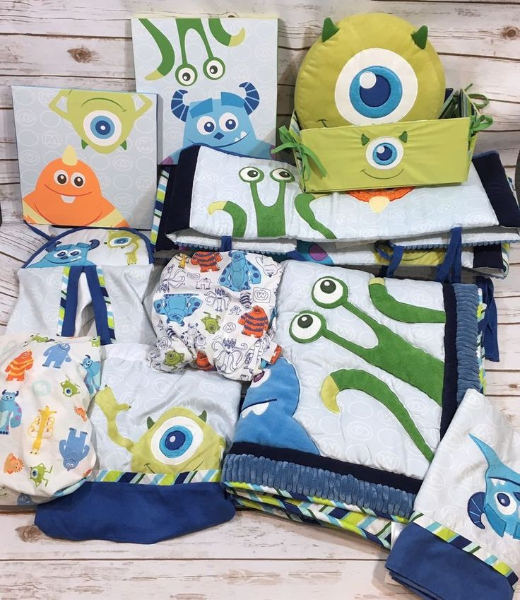 Disney Baby Monsters Inc 11pc Crib Bedding Set Comforter ...