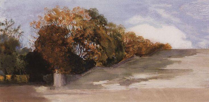 В Версальском парке. 1897 |