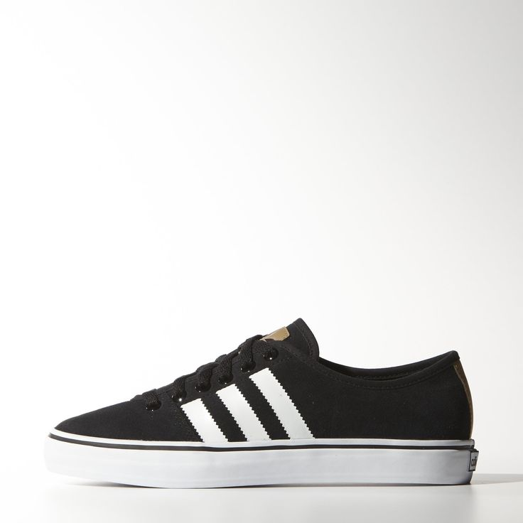 These womens Adria Low shoes do justice to a favorite adidas look Clean  styling in
