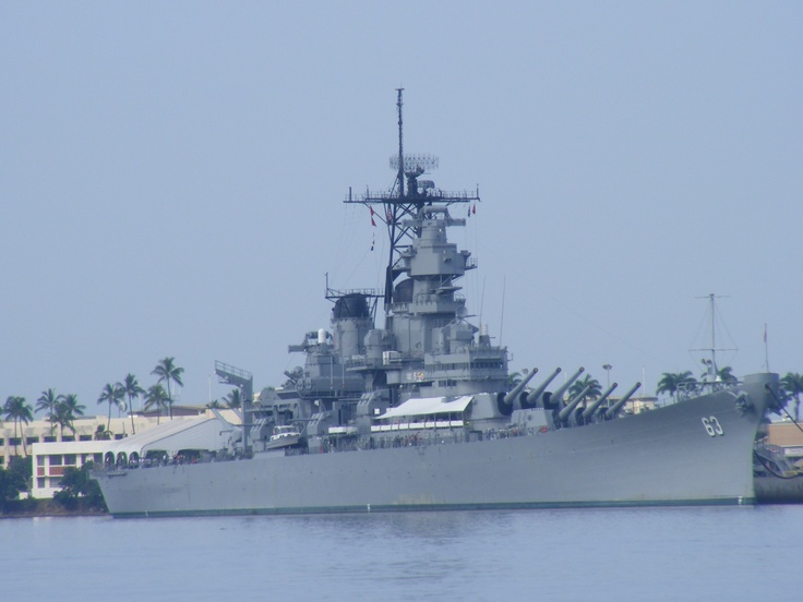 USS Missouri Battleship, Pearl Habour