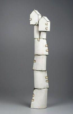 Ceramic sculpture by Mary Fischer