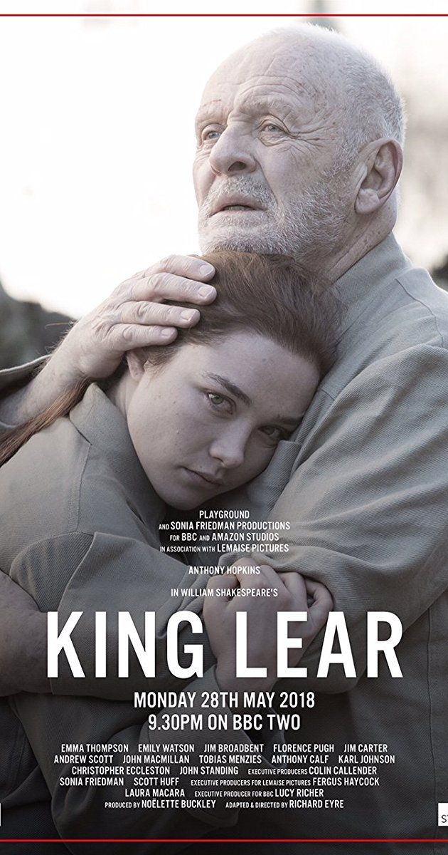 Directed By Richard Eyre With Jim Broadbent Jim Carter Tobias Menzies Emily Watson An Aging King Invites Disaster When H King Lear Movies Anthony Hopkins