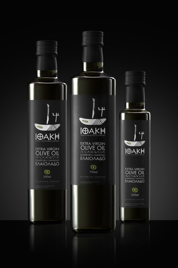 Ithaki Extra Virgin Olive Oil by In Mood Designers , via Behance