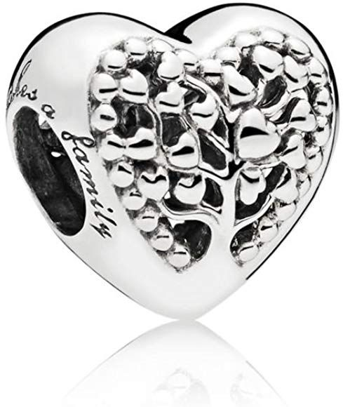 2ccbd5379d5f Pandora Abalorios Mujer plata - Charm abalorio para pulsera corazón ...