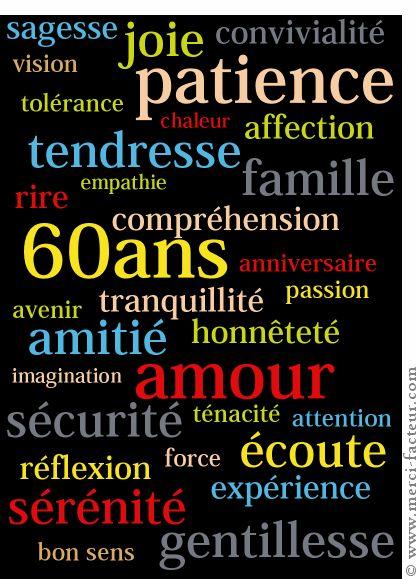 citation 60 ans
