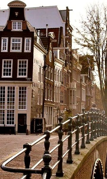 Beautiful Amsterdam, The Netherlands.  I could wander your streets for days!