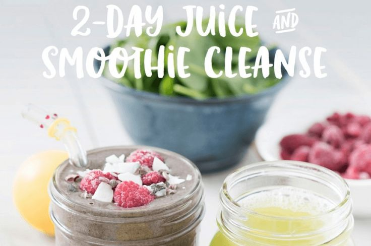 2 Day Juice & Smoothie Cleanse