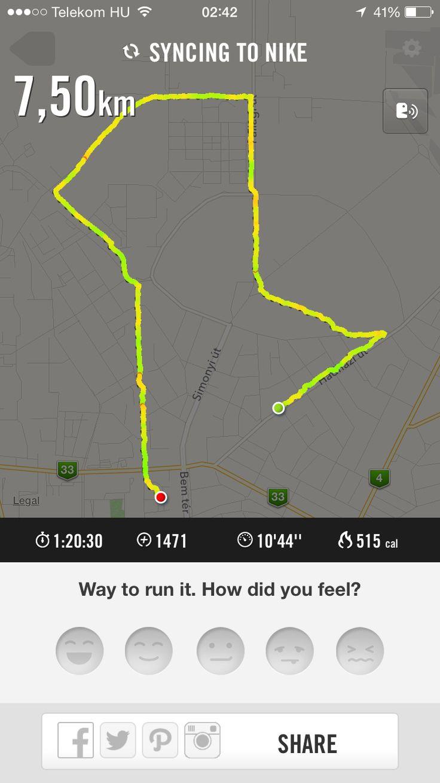 Morning run at 12am