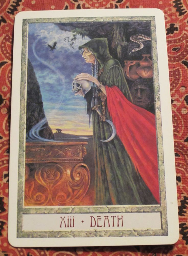 Thoth Death Tarot Card Tutorial: Death Card Images On Pinterest