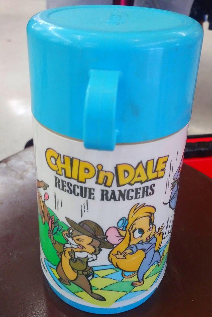 Original Chip 'n Dale Rescue Rangers Aladdin Thermos