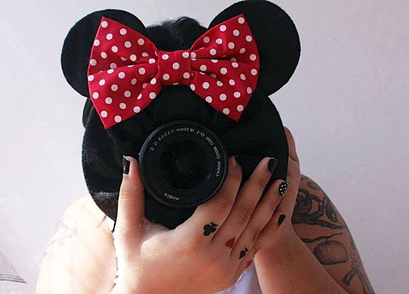 Minnie para Lente de Câmera Fotográfica1