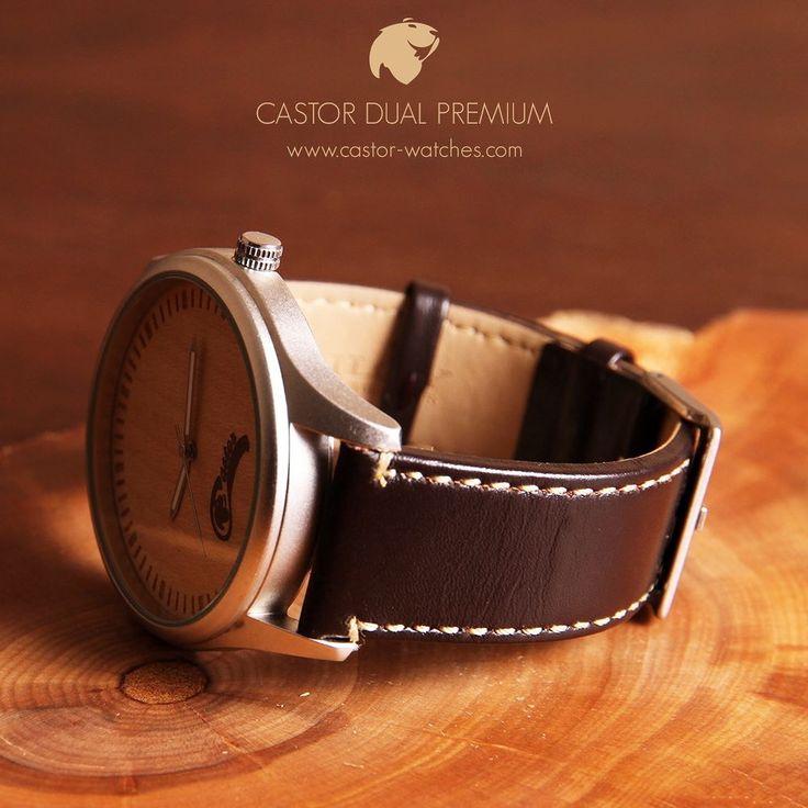 Les presentamos el nuevo #reloj Castor Dual Premium con correa de cuero española Diloy. Para ocasiones más elegantes con la calidad de una correa de primer nivel. A tan solo $39.900 y viene con la correa de nylon original adicional de regalo para que cambies de estilo según la ocasión. Pocas unidades. Ven por el tuyo en http://ift.tt/1RZA1G6 . Envío gratis en todo Chile . Worldwide shipping  . #castorwatches #chile #watches #bamboowatch #watch #woodenwatch #accesorios #relojesdemadera…