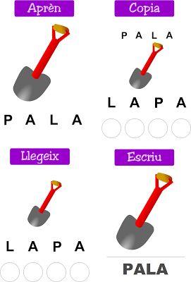 """Segona activitat de la sèrie """"Les primeres consonants. Paraules """" d'Emilia Alcaraz Delgado adreçada als primers cursos d'Educació infantil. En aquesta ocasió, es treballen les paraules que tenen vocals + """"P"""", """"L"""" .  És una activitat ideal per treballar amb la pissarra digital, amb tot el grup-classe.  NOTA: Per tal de poder jugar en les millors condicions, activeu la tecla de les majúscules."""