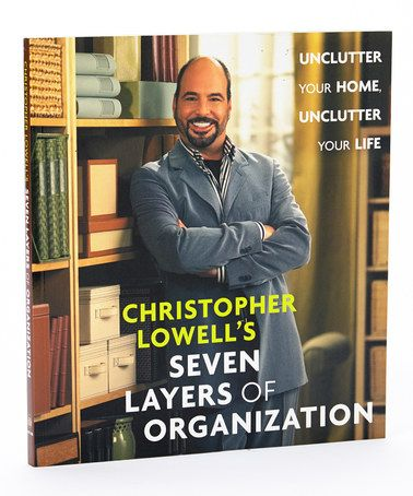 This Christopher Lowell's Seven Layers of Organization Paperback by Bradley's Books is perfect! #zulilyfinds