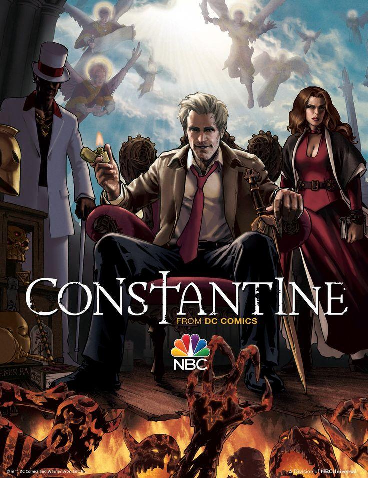 Constantine Show Poster - Gene Ha