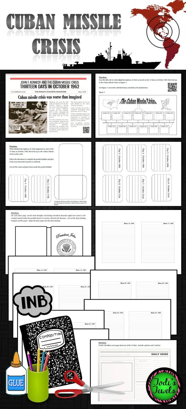 4035 best elementary science activities lessons images on cuban missile crisis interactive notebook extension activity robcynllc Gallery