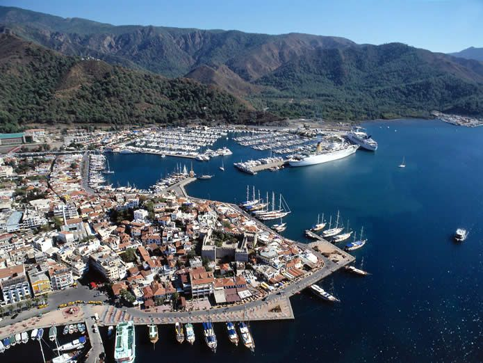 Marmaris turkey   | Marmaris – Turkey Map