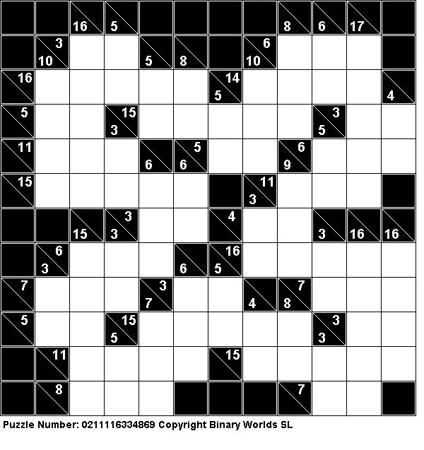 photograph about Cross Sums Printable referred to as Straightforward Kakuro Printable Puzzles Similar Keywords and phrases Recommendations