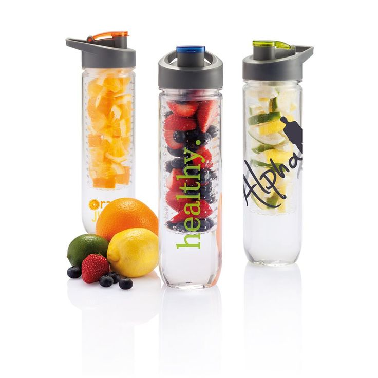 awesome Vattenflaska med fruktbehållare