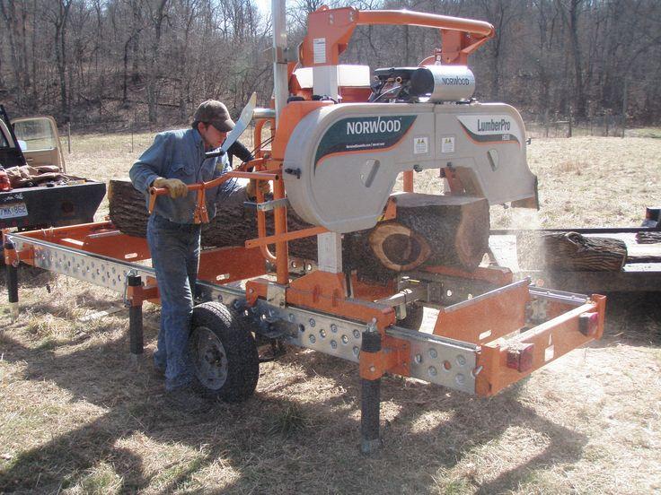 Earlier Model Norwood Portable Sawmill Options Sawmills