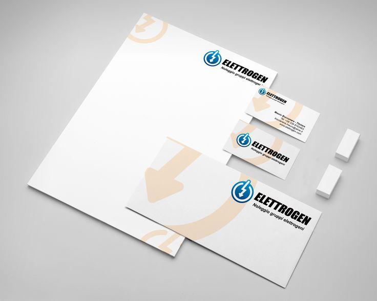 Logo design & corporate branding. Elettrogen