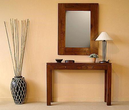 mesa recibidor con espejo - Buscar con Google