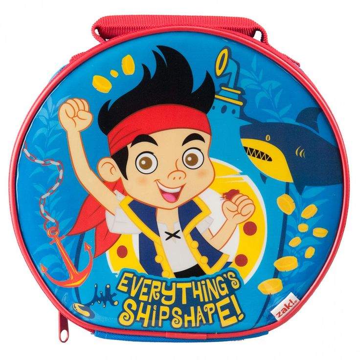 Jake and the Never Land Pirates Lunch Bag from Funstra Toys