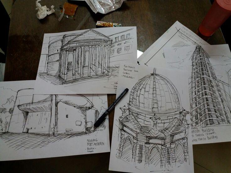 #sketch #archsketch #jurnal