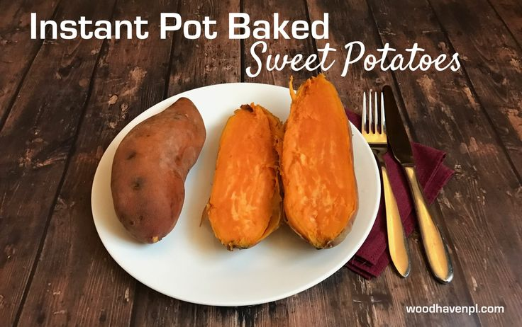 No need to wait an hour for your oven to cook sweet potatoes. Thanks to the Instant Pot, you can now have them ready in a fraction of the time!