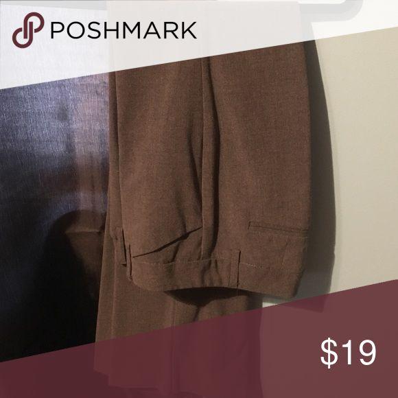Dark grey dress pants Dark grey dress pants fitted New York & Company Pants Trousers