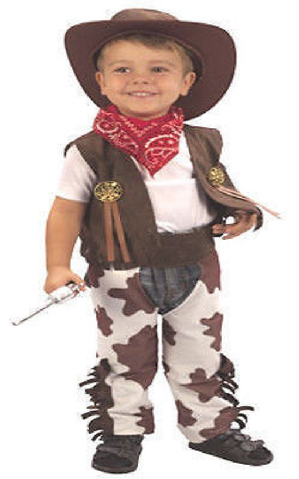 Cowboy Toddlers fancy Dress Costume age 2-4 in Clothing, Shoes, Accessories | eBay