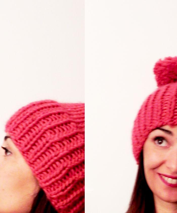 wool hat - knitting