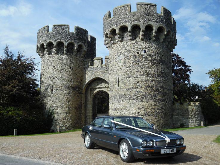 Jaguar XJ6 at Cooling Castle Barn