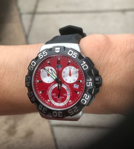 5d1bc7c8cc3 TAG Heuer Formula 1 Chronograph CAH1112.BA0850 Wrist Watch for Men ...