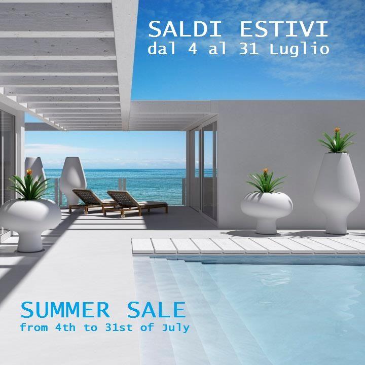 SALDI ESTIVI dal 4 al 31 Luglio 2015 - SUMMER SALE from 4th to 31st of July 2015
