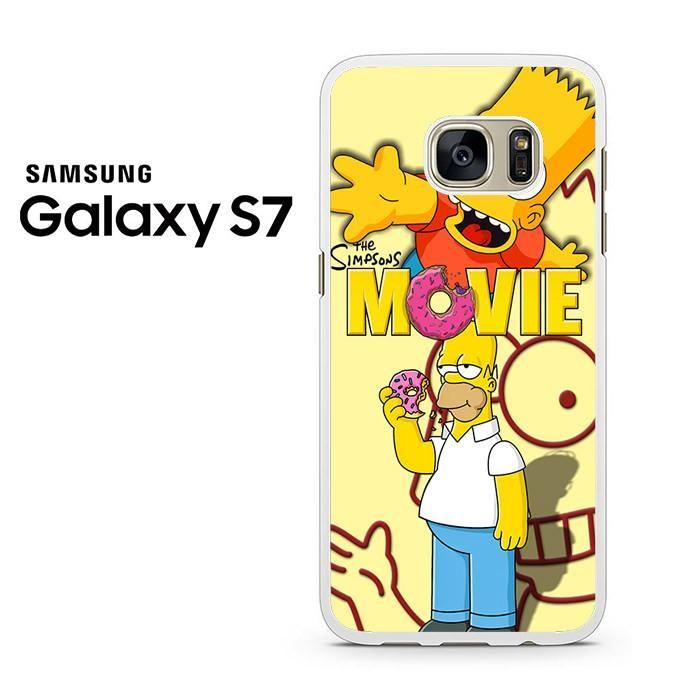 Homer Simpson Donut Samsung Galaxy S7 Case