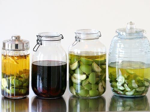Vin de noix and nocino