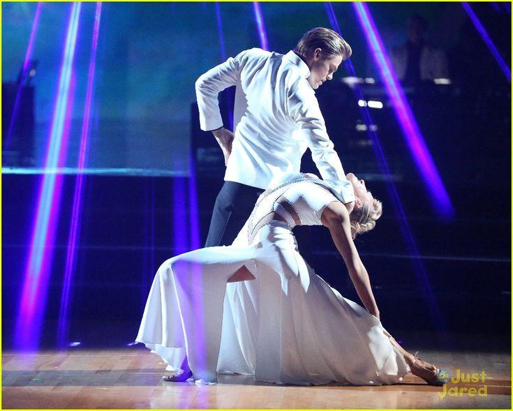 "Derek Hough and Nastia Liukin dance ballroom tango to ""Summer"" by Calvin Harris, Dancing With the Stars, season 20."