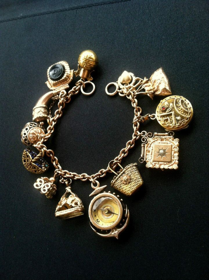 1000 Images About Charms And Charm Bracelets Vintage