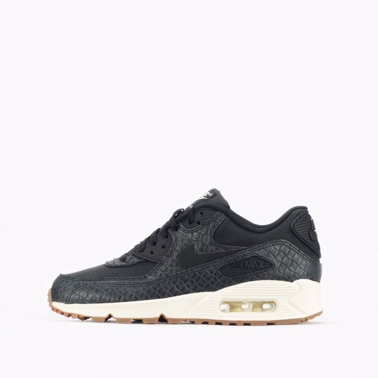Nike Air Max 90 Premium Women's Shoes in Black/Sail
