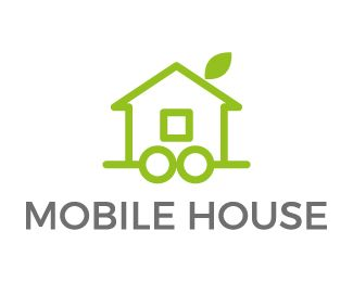 Logo Design - Mobile house