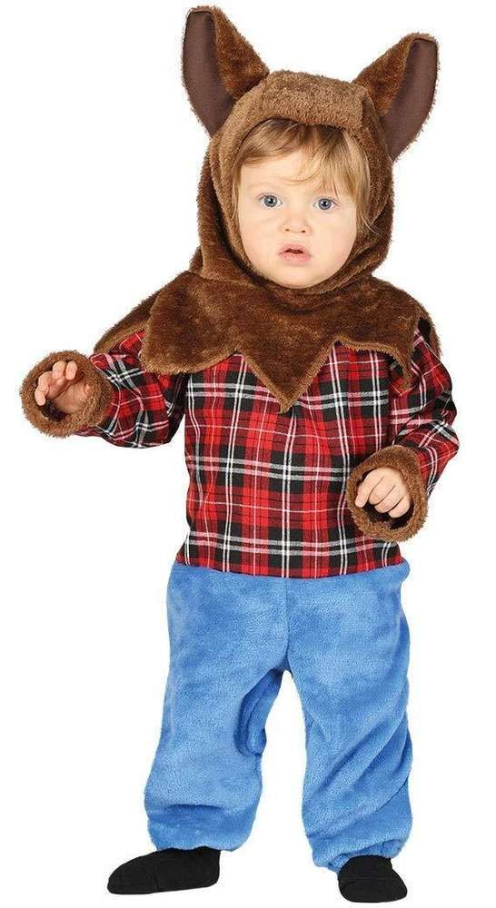 Guirca 87649 - costume lupo bambino taglia 12-24 mesi  ee5e25f98800