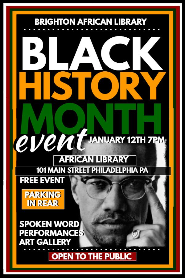 7 best Black History Month Poster Templates images on Pinterest - missing posters template