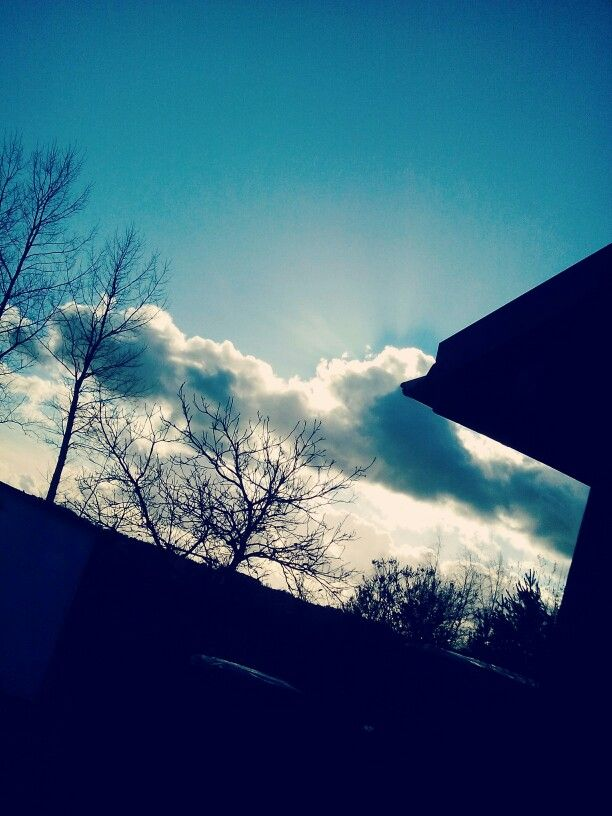 Beautifull, blue clouds