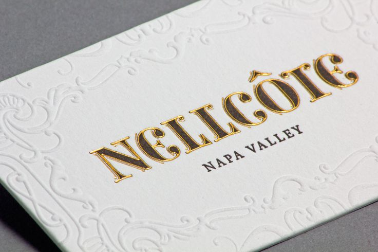 Nellcote Wine Group Business Card
