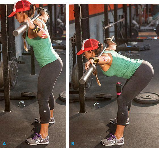 Bodybuilding.com - Ashley Horner's Full-Body Squat Rack Workout.
