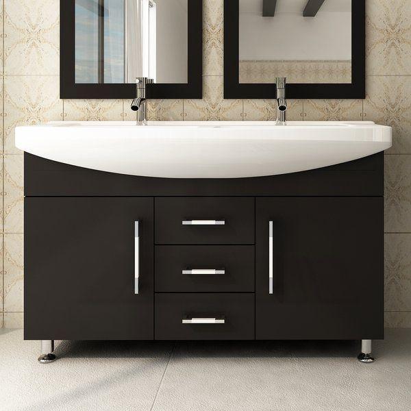 Celine 48 Double Bathroom Vanity Modern Bathroom Vanity Double
